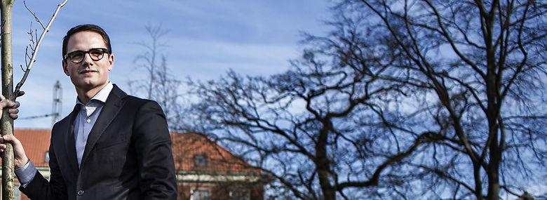 Simon Aggesen (K) - Frederiksbergs nye borgmester <br />Foto: Thomas Emil Sørensen, Ritzau Scanpix