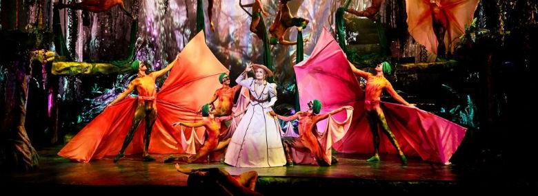 Fredericia Teater har blandt andet haft stor succes med opsætningen af Tarzan.<br />Foto: Fredericia Teater