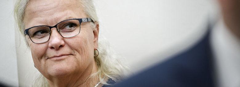Liselotte Blixt er klar til at gå imod sit politiske bagland og danne en usædvanlig alliance på tværs af folketingssalen for at bekæmpe Ring 5 motorvejen omkring København.<br />Foto: Philip Davali, Ritzau Scanpix