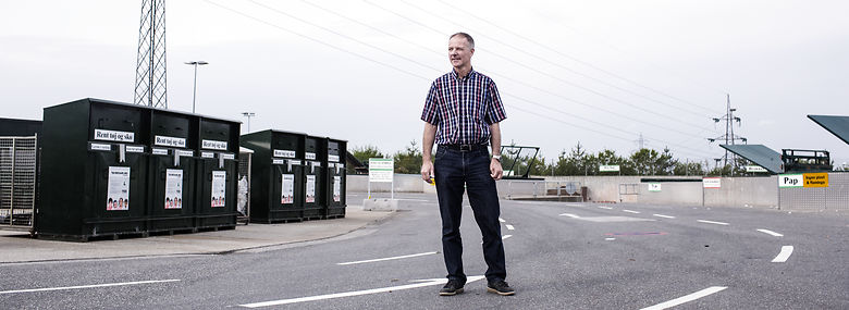 Bjarne Munk Jensen, chef for AffaldVarme Aarhus.<br />Foto: Thomas Emil Sørensen, Ritzau Scanpix