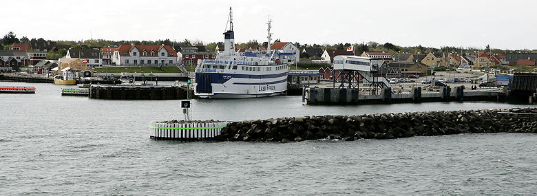 Færgeprisen til blandt andet Læsø kan sættes ned med det nye tilskud, som Folketinget har bevilget. <br />Foto: Henning Bagger, Ritzau Scanpix