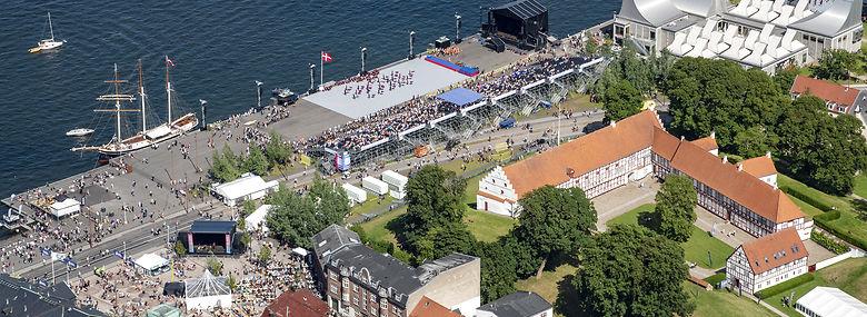 Aalborg var vært for Landsstævnet i 2017, og det inspirerede til Idrætsmødet, som til august afvikles for første gang.<br />Foto: Finn Byrum, Ritzau Scanpix