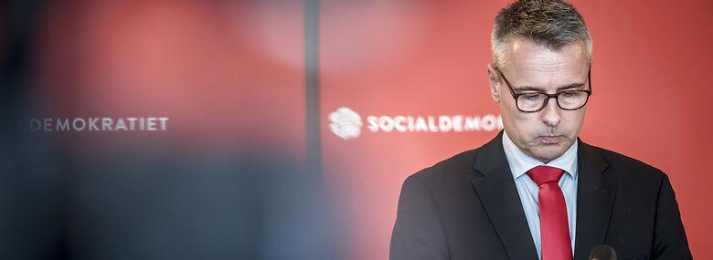 Henrik Sass Larssen begrunder sygemeldingen med den hårde medfart, som han mener at have fået fra den danske presse.<br />Foto: Mads Claus Rasmussen, Ritzau Scanpix