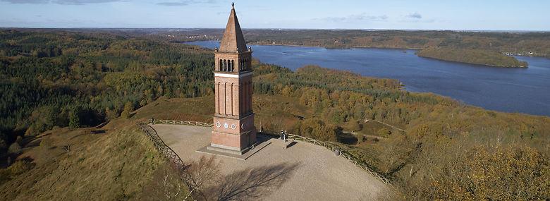 Himmelbjerget bliver hjemsted for et folkemøde for første gang i næsten 200 år denne sommer.<br />Foto: Morten Rasmussen, Ritzau Scanpix
