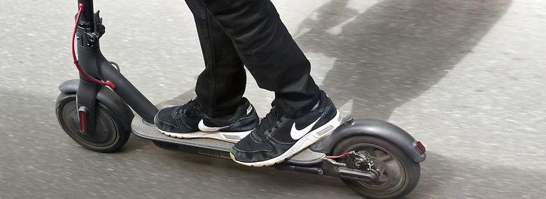 El-løbehjulene fylder meget i gadebilledet i København, men nu kommer der restriktioner på antallet i Indre by.<br />Foto: Mads Jensen, Ritzau Scanpix