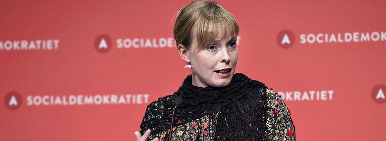 Joy Mogensen bliver ny minister<br />Foto: Henning Bagger, Ritzau Scanpix