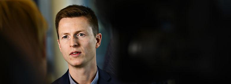 Jesper Petersen er ny politisk ordfører for Socialdemokratiet.<br />Foto: Philip Davali,  Ritzau Scanpix