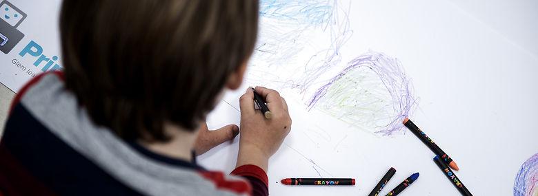 Læringstilbuddet skal blandt andet lære børn om danske traditioner, højtider, normer og værdier. Der er ni børn i målgruppen i Aarhus Kommune.<br />Foto: Sarah Christine Nørgaard,  Ritzau Scanpix