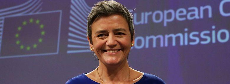 Statsministeren forventer, at Margrethe Vestager vil gøre sin indflydelse gældende, eksempelvis når det handler om at kæmpe for danske særinteresser.<br />Foto: Aris Oikonomou, AFP / Ritzau Scanpix