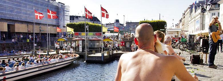 Nyhavn i København.<br />Foto: Mads Jensen, Ritzau Scanpix