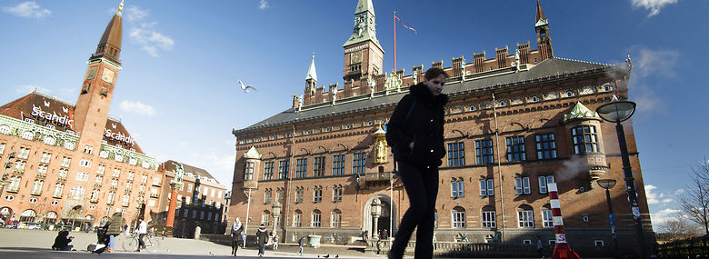 Københavns Rådhus.<br />Foto: Torben Åndahl, Ritzau Scanpix