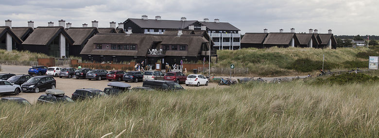 Turistsamarbejdet mellem Varde og Ringkøbing-Skjern kommuner omfatter Danmarks største turistdestination, inklusive sommerhusområdet ved Blåvand.<br />Foto: Karsten Schnack, Biofoto, Ritzau Scanpix