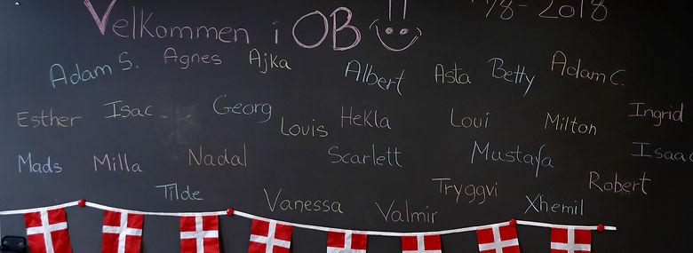 I går var der første skoledag på Guldberg Skole på Nørrebro - de københavnske folkeskoler har fremgang i elevtallene, og det kaster nu flere kommunale kroner af sig.<br />Foto: Jens Dresling, Ritzau Scanpix