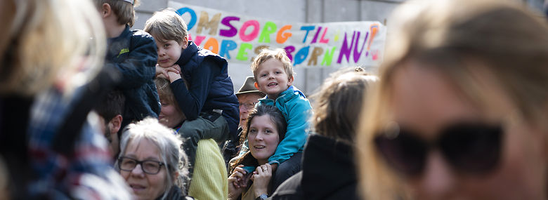 Fola har taget del i adskillige demonstrationer for eksempelvis minimumsnormeringer de seneste måneder.<br />Foto: Anthon Unger, Ritzau Scanpix