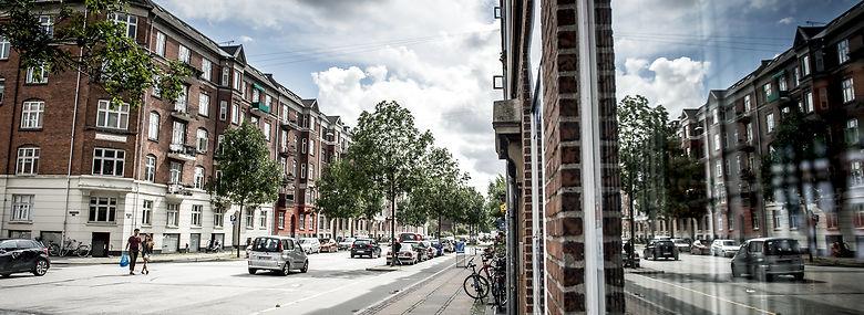 Lundtoftegade på Nørrebro i København.<br />Foto: Mads Claus Rasmussen, Ritzau Scanpix