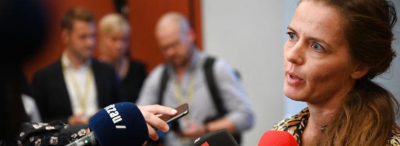 Ellen Trane Nørby stiller op op til posten som næstformand i Venstre, og dermed bliver der kampvalg mellem hende og Inger Støjberg.<br />Foto: Philip Davali, Ritzau Scanpix