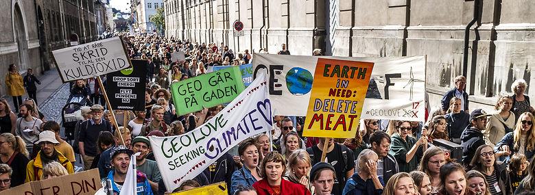 Klimamarchen i 2018 i København.<br />Foto: Simon Skipper, Gonzales Photo,  Ritzau Scanpix