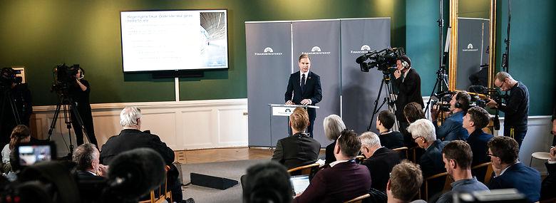 Finansminister Nicolai Wammen (S).<br />Foto: Niels Christian Vilmann, Ritzau Scanpix