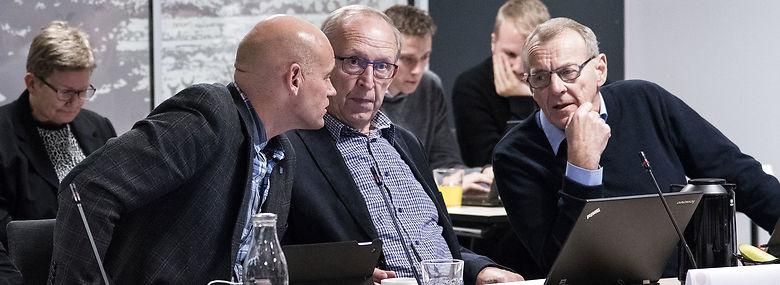 Byrådsmøde i Varde i november 2017.<br />Foto: John Randeris, Ritzau Scanpix