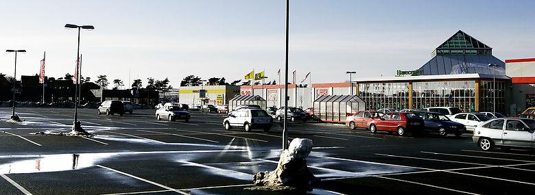 Holbæk Megacenter står til en megaudvidelse, som vil udløse plusser og minusser i omsætningen vidt omkring i det sjællandske.<br />Foto: Martin Bubandt, Ritzau Scanpix