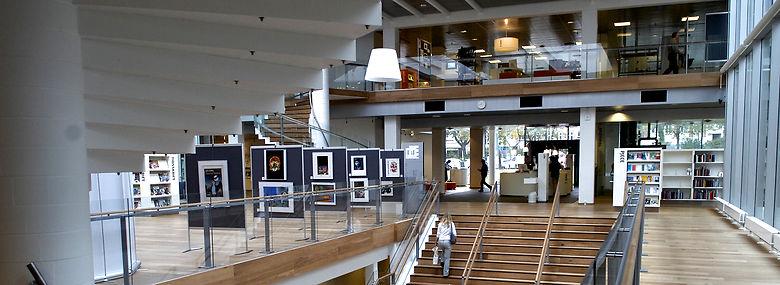 Kolding Bibliotek.<br />Foto: Carsten Andreasen, Ritzau Scanpix