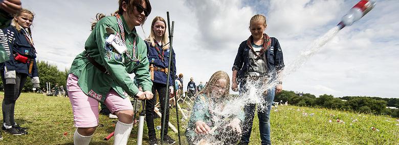 Sønderborg var vært for Spejdernes Lejr i 2017 - i 2022 er det Sjællands tur.<br />Foto: Palle Peter Skov, Ritzau Scanpix