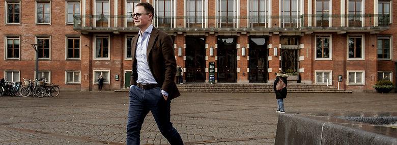 Borgmester Simon Aggesen (K).<br />Foto: Linda Kastrup, Ritzau Scanpix