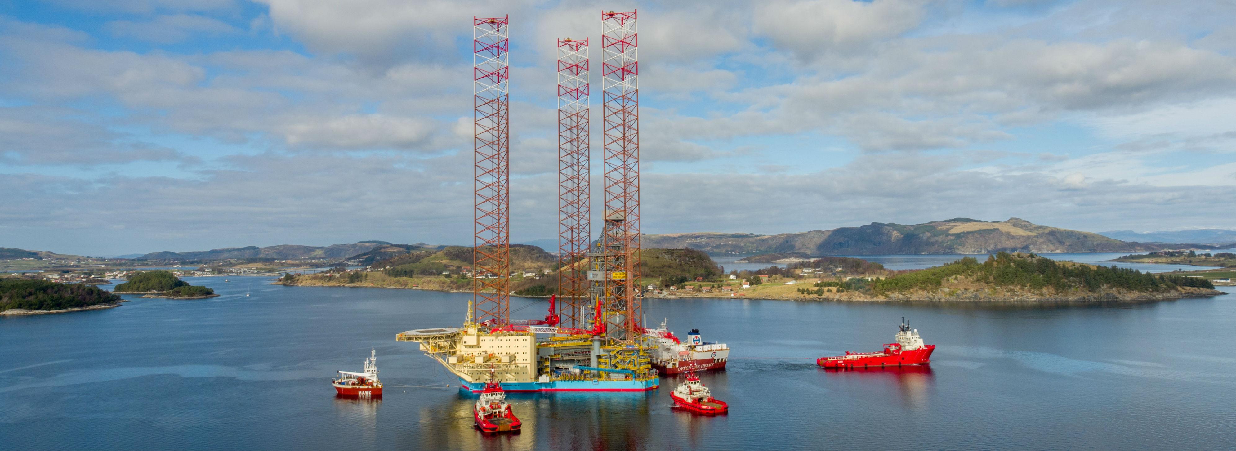 <br />Foto: Maersk Drilling