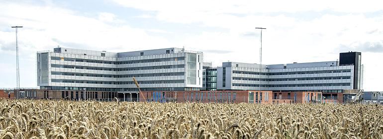 Nyt Aalborg Universitetshospital<br />Foto: Henning Bagger, Ritzau Scanpix