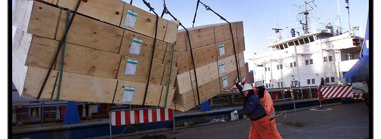 De danske havne kører på nedsat blus under coronakrisen, men de opretholder driften.<br />Foto: Claus Bonnerup, Ritzau Scanpix