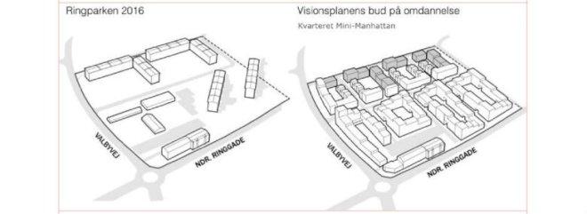 Tre nye fortættede kvarterer skal ændre udsat Slagelse-område