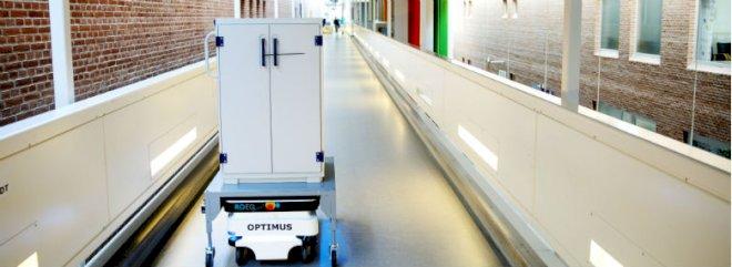 Mobile robotter sparer penge på sygehusene