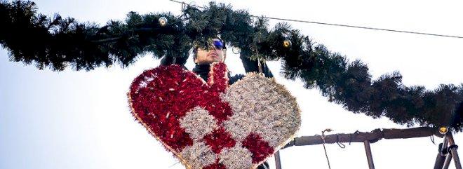 Kommuner redder gågaders juleudsmykning