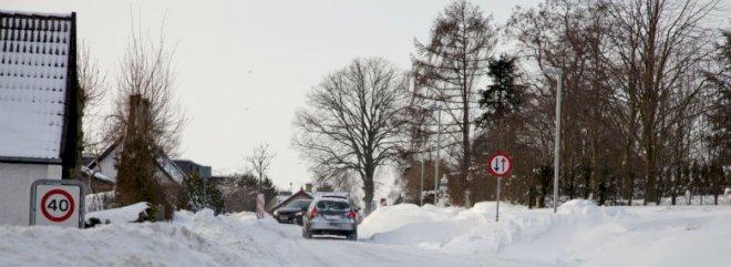 Gps sikrer korrekt vintersaltning - og borgerne kan følge saltvognen