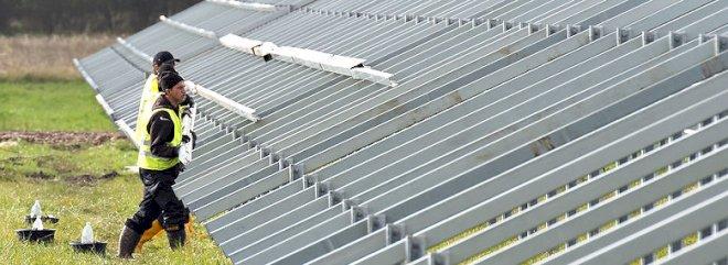Vindmøller og solceller tæt på at være statsstøttefri