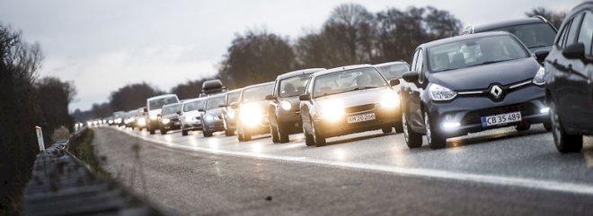 DI-analyse: Trafiktrængsel koster over 30 mia. kr. om året