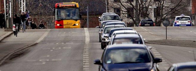 Forurening fra københavnske busser er halveret på fire år