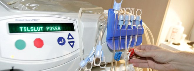 Dialyse og drop presser budgetterne