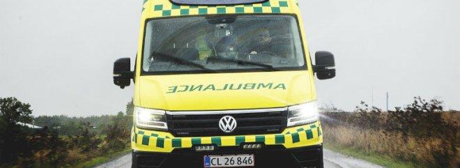 Nye ambulancer får positiv modtagelse