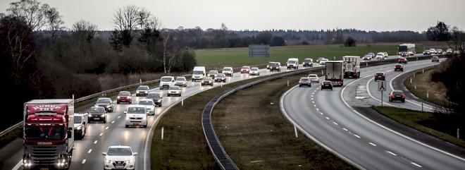 Flere kommuner står over for problemer med trængsel på vejen
