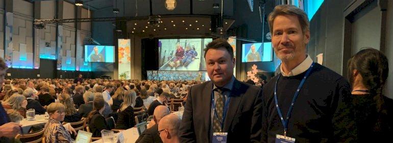 Formand og næstformand for Folketingets børne- og undervisningsudvalg, Anders Kronborg (S) til venstre og Stén Knuth (V).