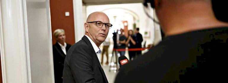 Carsten Kissmeyer (V) i Folketinget. Han vil med sin midtjyske bopæl ikke fortsætte med også at arbejde i regionsrådet.