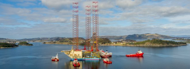Maersk Drilling taber over 700 mio. kr. i sit første år