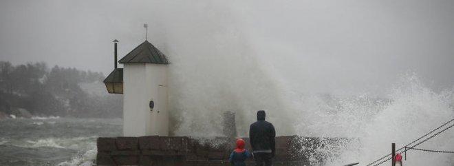 Stormvejr sætter europæisk vindrekord