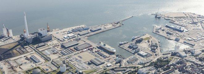 Vindmøllefabrik kan erstatte Esbjergværket på Esbjerg Havn