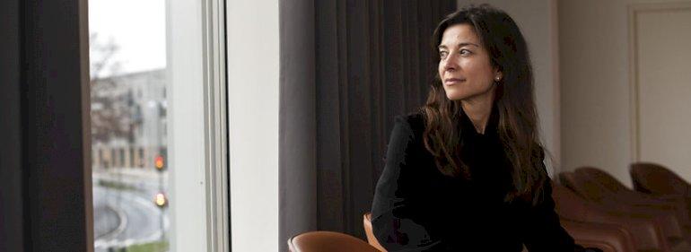 Microsofts administrerende direktør i Danmark, Nana Bule, glæder sig til samarbejdet med Københavns Kommune, som vil sende akademikere på it-praktikforløb.<br />Foto: Gregers Tycho, Ritzau Scanpix
