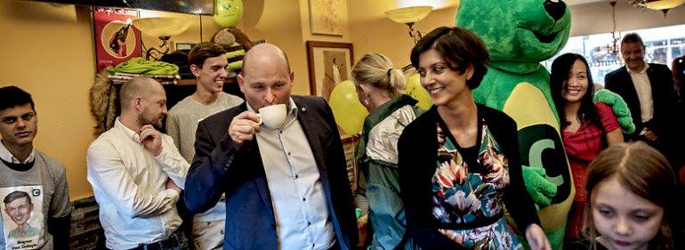 Under valgkampen ved KV17 var partiformand Søren Pape (K) på besøg i Lyngby-Taarbæk, hvor borgmester Sofia Osmani (K) vandt en stor sejr.