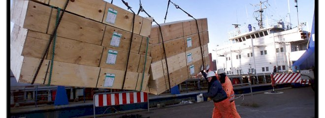Danske havne er åbne og opretholder nødvendig drift