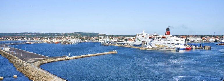 Stena Line-færgen i Frederikshavn Havn.<br />Foto: Jens Kirkeby, Ritzau Scanpix