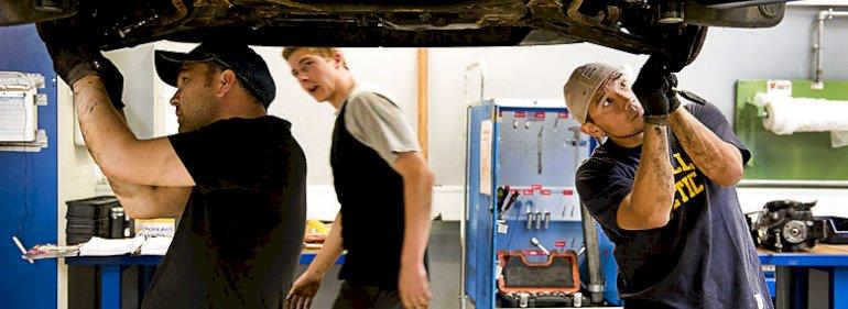 Hele 32,3 pct. af de unge på Mors og 32 pct. i Jammerbugt søger ind på erhvervsuddannelserne lige efter 9.-10. klasse.